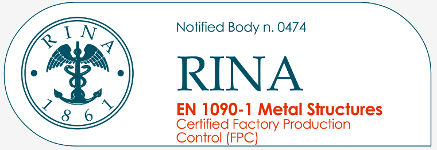Notified Body RINA EN1090-1 Metal Structures