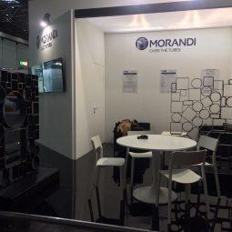Morandi Steel's stand at Tube 2018